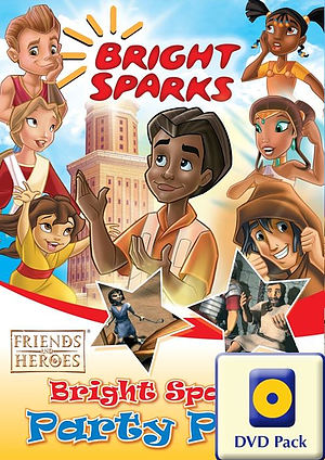 Bright Sparks Party Pack DVD + CDROM