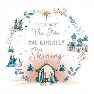 Christmas Cards Images.Holy Night Charity Christmas Cards Pack Of 10