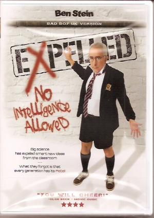 Expelled No Intelligence Allowed Dvd