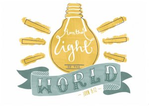 Light of the World Pack of 6 Notecards