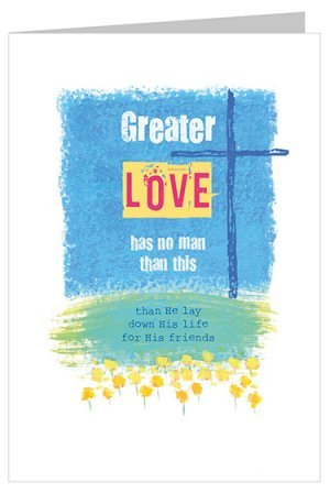 Greater Love Easter Card Pack of 5