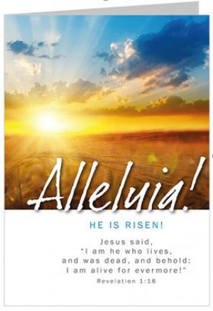 Alleluia He is Risen Pack of 5