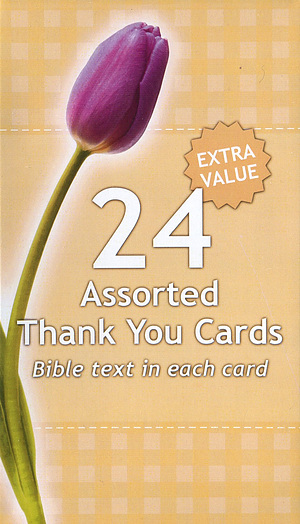 Assorted Thank You Cards - Pack of 24