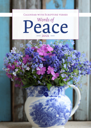 Words of Peace 2018 Calendar