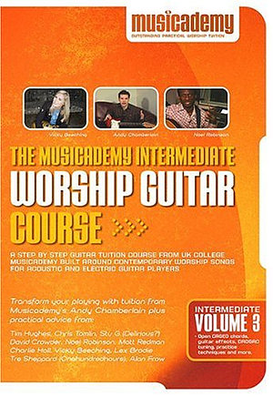 Intermediate Worship Guitar Course Vol 3 DVD
