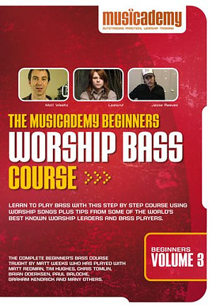 Beginners Worship Bass Course Vol 3 DVD