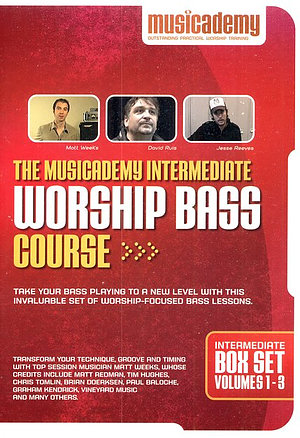 Intermediate Worship Bass Course Box Set