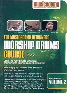 Beginners Worship Drums Course Volume 2 DVD