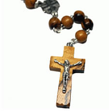 Holy Land Wooden Rosary