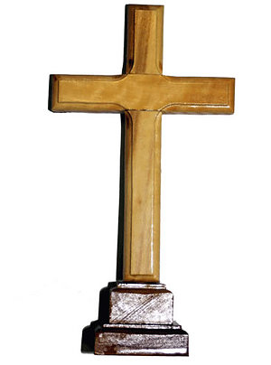Plain Cross w/base - small