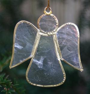 Hanging Gold Angel