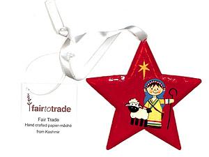 Star Decoration - Nativity Play/Shepherd