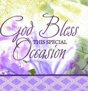 Napkin Special Occasion Pack Of 20