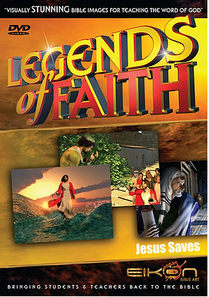 Jesus Saves Story Images DVD