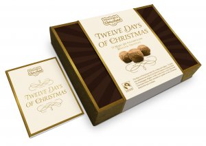 12 Days of Christmas - Belgian Truffle Box