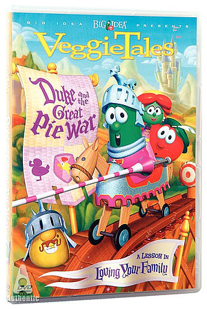 Duke and the Great Pie War DVD