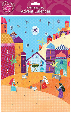 The Bright Nativity A4 Advent Calendar
