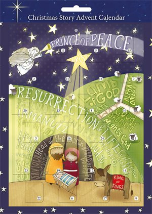 Prince of Peace A4 Advent Calendar