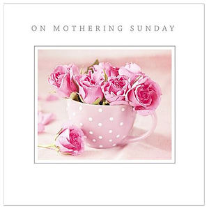 On Mothering Sunday Single Card