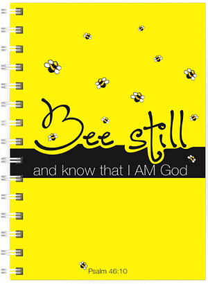 Bee Still A5 Notebook