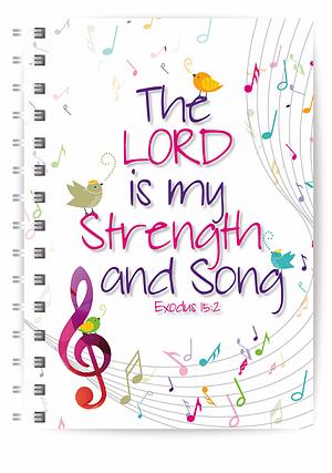 Strength & Song A5 Notebook