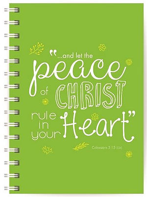 Peace of Christ Notebook