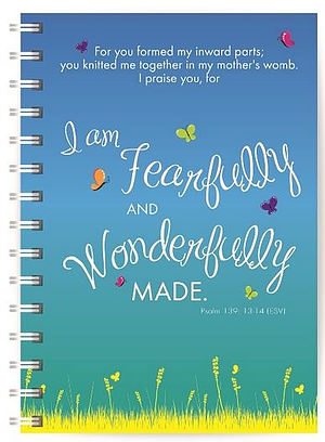 Wonderfully Made Notebook