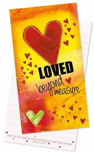 Loved Beyond Measure Jotter