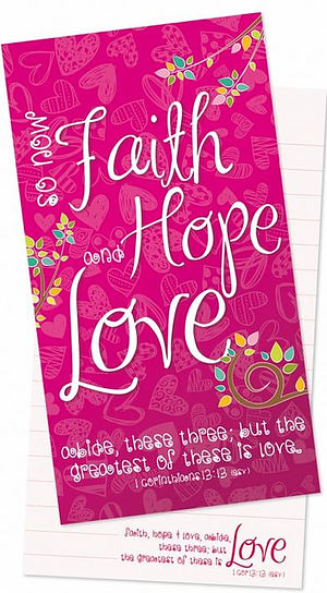 Faith, Hope, Love Jotter