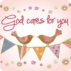 God cares Coaster