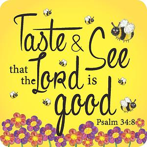 Taste and see Coaster