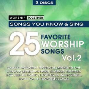 25 Favorite Worship Songs V2