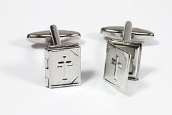 Holy Bible Cufflinks
