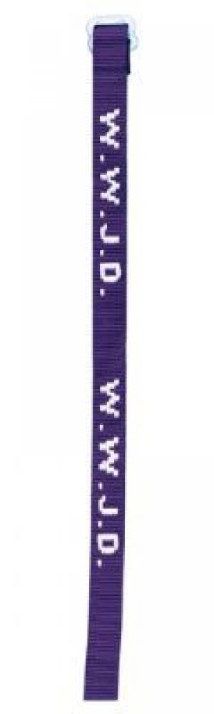 Wristband - Purple, W.W.J.D. Single