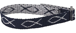 Wristband - Navy Blue, Fish Pack of 6
