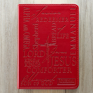 Names of Jesus (Burgundy) Flexcover Journal
