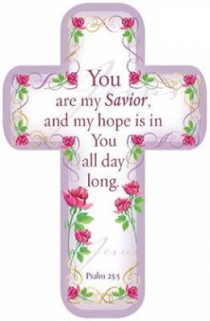 """Savior"" Paper Cross Bookmark Pack of 12"