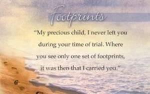 """Footprints"" Pass-Around Cards"