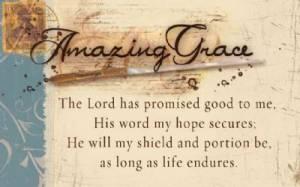 """""""Amazing Grace"""" (Tan) Pass-Around Cards"""