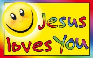 """Jesus Loves You"" Pass-Around Cards"
