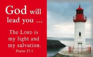 """""""Psalm 27:1"""" Pass-Around Cards"""