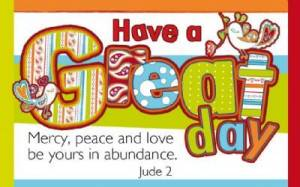 """""""Have a Great Day"""" Pass-Around Cards"""