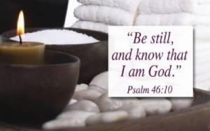 """""""Psalm 46:10"""" Pass-Around Cards"""