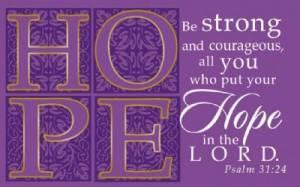 """""""Hope"""" (Purple) Pass-Around Cards"""