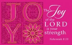 """""""Joy"""" (Pink) Pass-Around Cards"""