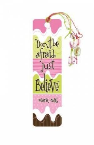 """Mark 5:36"" Bookmarks w/ Charm"