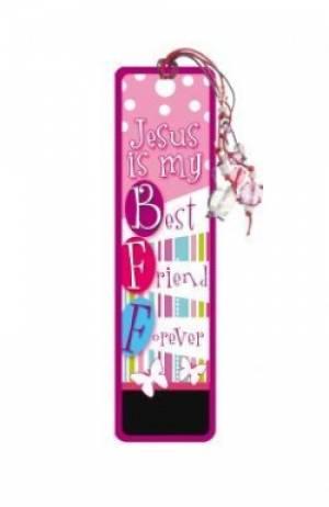 """""""BFF"""" Bookmarks w/ Charm"""