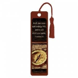 """""""Proverbs 3:6"""" Tassle Bookmark"""