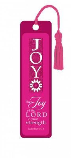"""Nehemiah 8:10"" Tassle Bookmark"