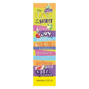 Fruit of the Spirit Bookmarks - Pack of 10